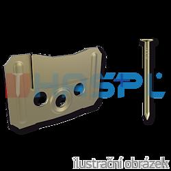 Panelling handle KB 2 mm - 1