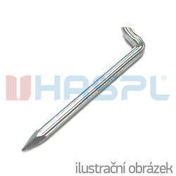 hardened steel hooks 4x50, grooved shank