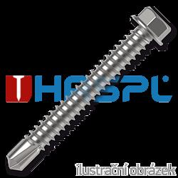 Self drilling screws 4,8x90  hexagon washer head, DIN 7504K