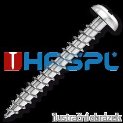 Chipboard screw 2,5x30mm PZ1, galvanized, full thread, panhead
