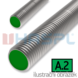 Threaded rod DIN976 M16x1000, cl.,