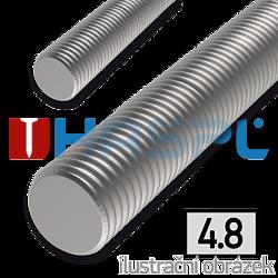 Threaded rod DIN975 M27x1000, cl.4.8, galvanized