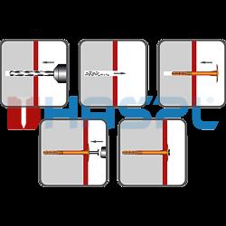 Insulation plug TTH, 10/60x210mm, polypropylen - 2