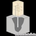 Anchor base to concrete type T 90x90x4,0 - 2/3