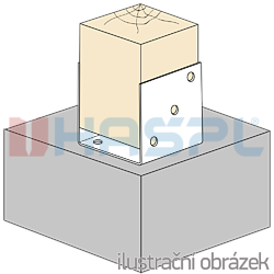 Anchor element type U 100x100x4,0 - 2