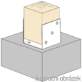 Anchor element type U 100x100x4,0 - 2/3
