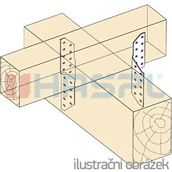 Connector purlin-rafter 290° - 2