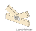 Jointing plate - single spikes 24x210x1 - 2/3