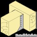 Joist hanger type 2 80x160x2 - 2/3
