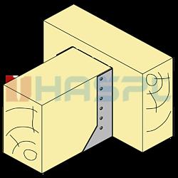 Joist hanger type 2 80x100x2 - 2