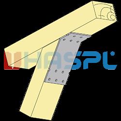Angle bracket 135° Type 2 120x90x30x2,5 - 2