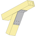 Angle bracket 135° Type 2 120x90x30x2,5 - 2/3