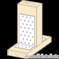 Angle bracket 90° Type 1 40x120x120x2,0 - 2/3
