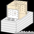 Angle bracket 90° Type 2 80x100x65x3,0 - 2/3