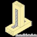 Reinforced angle bracket  90° Type 3 40x240x60x3,0 - 2/3