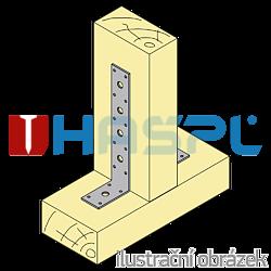 Angle bracket 90° Type 3 200x40x60x3,0 - 2