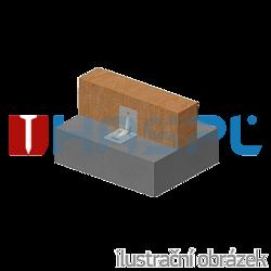 Reinforced angle bracket Type 4 90x105x105x3,0 groove - 2