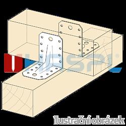 Reinforced angle bracket  90° Type 4 65x90x90x2,5 - 2