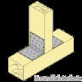 Reinforced angle bracket  90° Type 5 100x53x53x1,5 - 2/3