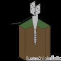 Ground screw type U 80x700 - 2/3