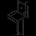 Anchor base to concrete type L 80x80x4,0 - 3/3
