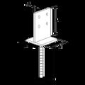 Anchor base to concrete type T 90x90x4,0 - 3/3