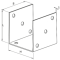 Anchor element type U 100x100x4,0 - 3/3