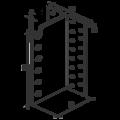 Hidden joist hanger type 2 80x75x2,0 - 3/3