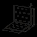 Angle bracket 90° Type 1 40x120x120x2,0 - 3/3