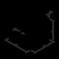 Reinforced angle bracket  90° Type 5 100x53x53x1,5 - 3/3