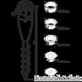 Ground screw circular 26-55x560 - 3/3