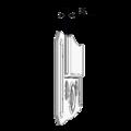 Panelling handle KB 3 mm - 3/3